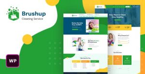 Brushup 1.0 - Cleaning Service Company WordPress Theme