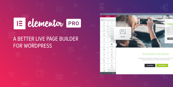 Elementor Pro 3.0.8 Nulled / Elementor Free 3.0.15 (Full Template Kits)