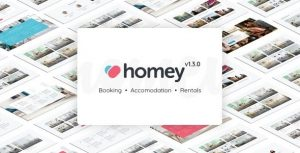 Homey 1.6.4 Nulled - Booking and Rentals WordPress Theme