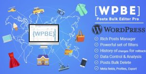 WPBE - WordPress Posts Bulk Editor Professional 2.0.2