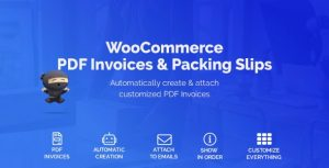 WooCommerce PDF Invoices 1.3.16 - Packing Slips 1.2.3