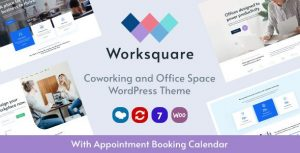 Worksquare 1.2 - Coworking and Office Space WordPress Theme