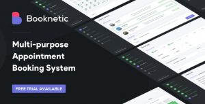 Booknetic 2.3.2 Nulled - WordPress Appointment Booking and Scheduling