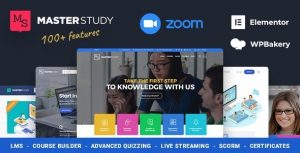Masterstudy 4.2.1 Nulled - Education Center WordPress Theme