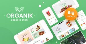 Organik 2.9.4 - Organic Food Store WordPress Theme