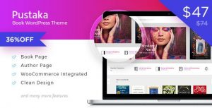 Pustaka 2.11.13 - WooCommerce Theme For Book Store