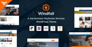 Windfall 1.3.1 - Electrician Services WordPress Theme