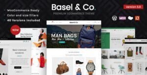 Basel 5.4.2 Nulled - Responsive eCommerce Theme