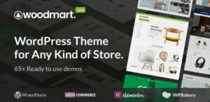 WoodMart 6.0.0 Nulled - Responsive WooCommerce WordPress Theme
