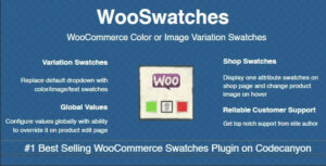 WooSwatches 3.3.2 - Woocommerce Color or Image Variation Swatches